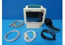 Welch Allyn ProPaq CS 242 Patient Monitor (SpO2 EKG NBP Print) & New Leads~12156