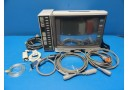 Fukuda Denshi DynaScope DS-3300 Patient Monitor W/ Input Box & Cables (10853)