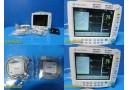 2007 GE Datex Ohmeda S5/FM Modular Monitor W/ E-PSMP Module,Battries Leads~25175
