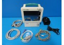 Welch Allyn ProPaq CS 242 Vitals Monitor (SpO2 EKG NBP Print) & New Leads~12158