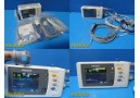 2011 Philips M3002A Intellivue X2 MMS Transport Monitor/Module W/ Leads~25937