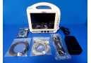 PACE TECH Vitalmax 4000 Color Monitor W/ New SpO2 EKG NBP Leads & Adapter ~12312