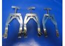 3 x Zimmer 121-02 (Medium) Kirschner Wire Tractor, 19cm x 17cm, W 6 5/8in /10109