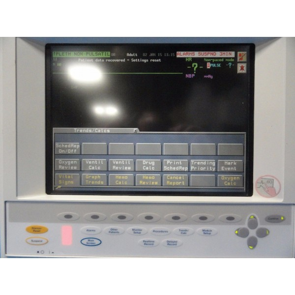 PHILIPS V24C CRITICAL CARDIAC CARE TOUCH SCREEN COLORED