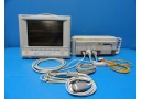 HP Agilient Viridia 24C Neonatal Color Monitor W/ Rack 6 Modules & 03 Leads(8726
