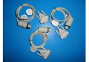 3 x MASIMO SERIES D004 SatShare CABLES P/N 20323-A04C039 (4027)