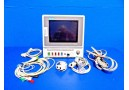 GE MARQUETTE Eagle 4000 (NBP SpO2 Temp CO EKG Dual IBP) Monitor W/ Leads ~14203