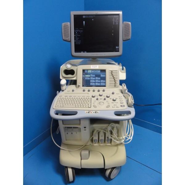 Ultrasound Machine For Sale >> GE Logiq 9 LCD Ultrasound System W/ M12L, 7L, 4C, 4D3C-L Probes & Printer