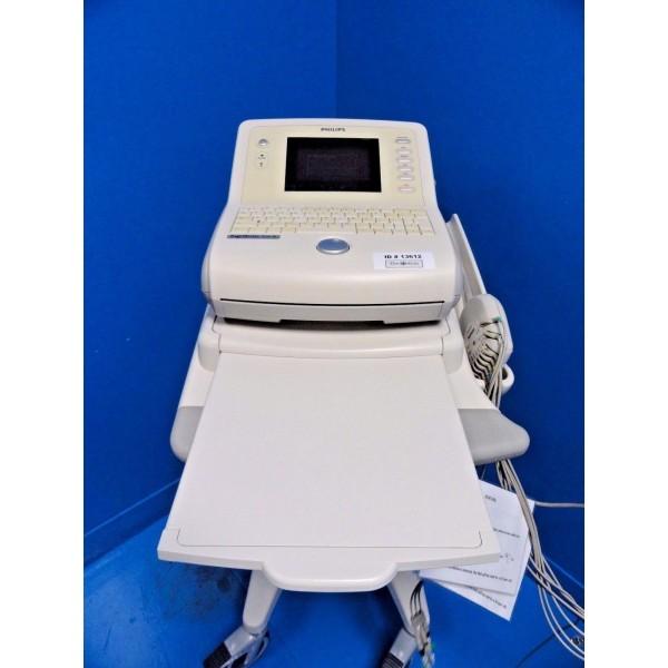 Philips PageWriter Trim III EKG / ECG System W/ Module Cart & Manual