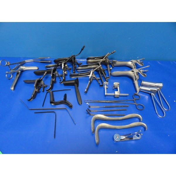 Aesculap Amp Others Assorted Gynecological Laser Instruments