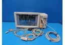 FUKUDA DENSHI DATASCOPE EXPERT DS-5300 PATIENT MONITOR W/ MODULE & LEADS ~13819