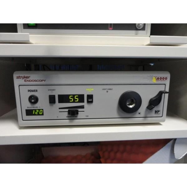 stryker 988 endoscopy tower w camera head ccu x6000 light 30l rh themedicka com Service Station Service ManualsOnline