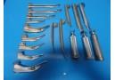 14 x Welch Allyn Ohio Drage Rusch Assorted Laryngoscope Blade W/ 3 Handles~15015