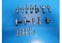 18 x Circon ACMI Gyrus Assorted Stopcocks (75U, W43, W49) & Flow Adapters ~15088