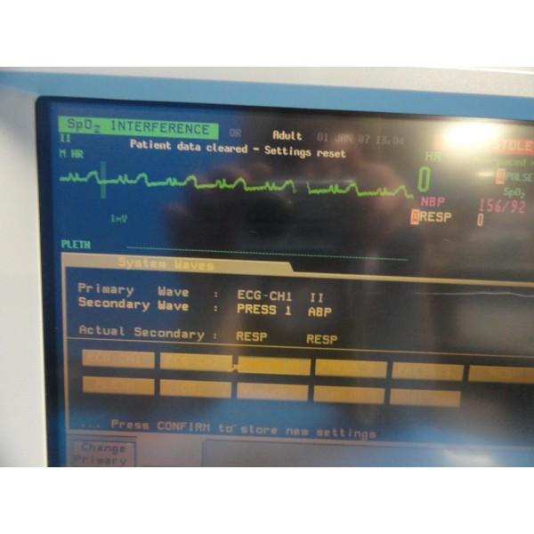 HP OmniCare 24C / Agilent V26C Patient Care Monitor W/ NBP SpO2 ECG