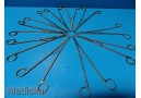 10 x Ethicon Codman Assorted Surgical Forceps *LOT OF 10* Free Shipping ~ 14917