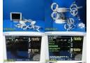 Somanetic Invos 5100C Cerbral/Somatic Oximeter W/Dual PreAmp & PIC Leads~18153