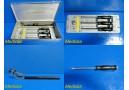 Howmedica 6060-9-140 Acetabular Positioning Instruments W/ Case ~ 18538