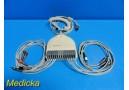 GE Marquette AM-4 Acquisition Module W/ Patient Leads & Trunk Cable ~ 18639