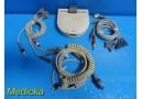 GE Marquette AM-4 Acquisition Module W/ Patient Leads & Trunk Cable ~ 18652