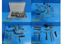 69X Stryker Howmedica Osteonics Assorted Orthopedic Instrument W/ Case ~ 19508