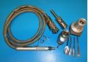 STRYKER 1430-20 / 1477 BONE DRILL SET W/ PNEUMATIC HOSE & ATTACHMENTS (4426)
