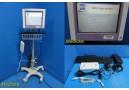 2010 Natus BRM3 Brain Monitor W/ BrainZ DAU, Accessories & VHARS Stand ~ 22458