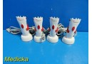 4X Cardinal Health CAH 4413 Surgical Clipper W/ CAH 4414 Charging Station ~22676